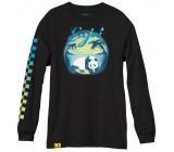 Тениска с дълъг ръкав Enjoi Tonal Airbrush L/S Tee