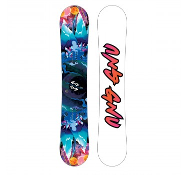 Дамски сноуборд GNU ASYM VELVET C2E 18/19
