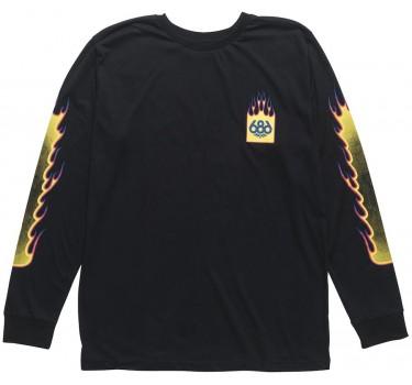 Тениска с дълъг ръкав 686 FLAME 2 PULLOVER LS TEE